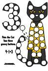 Magnet Pages for Pete the Cat:  Pages are available at Making Learning Fun.com for pages with numbers 0-4 in black and white and color versions.