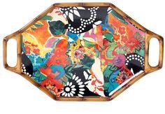 Rectangular Serving Platter With Handles ($49, originally $70)