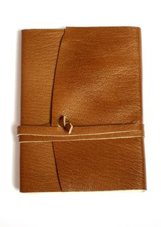 Leather Journal Blank Paper Notebook Handmade Cover