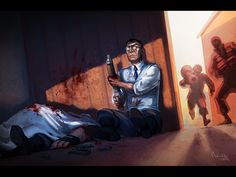 Cool Team Fortress 2 wallpaper for TF fans. tf2___last_stand_by_theminttu-d54lfgr.jpg (1200×900)