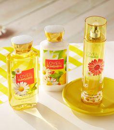 Super juicy strawberries & bright, fresh lemons make Love & Sunshine one of our happiest fragrances, yet!