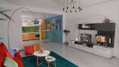 DedeSign - Inspirație pentru casa visurilor tale Loft, Kids Rugs, Furniture, Home Decor, Houses, Decoration Home, Kid Friendly Rugs, Room Decor, Lofts