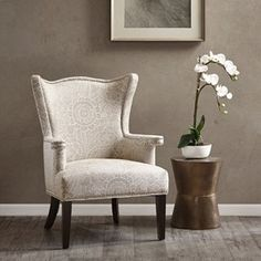 The Cabot | Natural/Ivory armchair