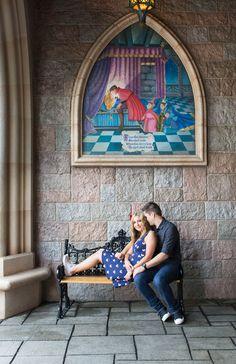 Engagement Photos at Disneyland: Leesha + Russell