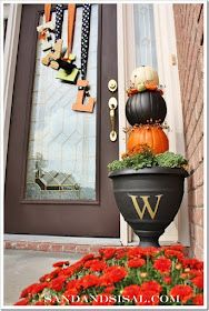 Be Different...Act Normal: DIY Pumpkin Topiary [Fall Decorations]