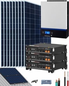 Kits Solares Vivienda Permanente | Comprar Kits Solares Vivienda Permanente al Mejor Precio Kit Solar, Solar Projects, Shopping, Solar Energy
