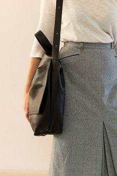 #FOKSFORM #Bi #Bag 01 #Minimal #leather #handbag #shoulder