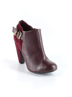 Check it out—Bamboo Ankle Boots for $16.49 at thredUP!