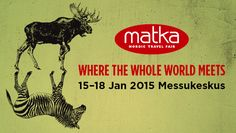 MATKA - Nordic Travel Fair - Where the whole world meets starting from tomorrow! Helsinki, Events, Travel, Viajes, Trips, Traveling, Tourism, Vacations