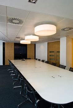 Stunning space for office meetings  | conference room | | meeting room | #meetingspace #design  http://www.ironageoffice.com/