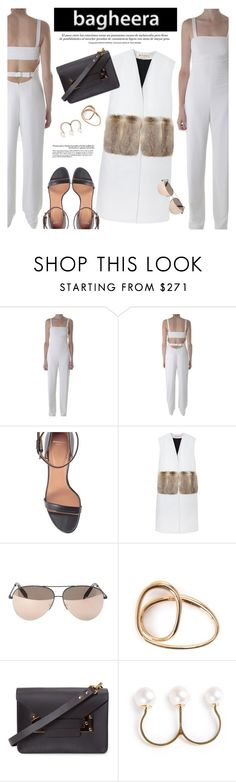 """""""BAGHEERA BOUTIQUE: Black & White"""" by an1ta ❤ liked on Polyvore featuring T By Alexander Wang, Givenchy, Marni, Victoria Beckham, Charlotte Chesnais, Sophie Hulme and Boy Meets Girl"""