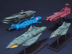 Space Battleship Yamato 2199 ~ Gamilon Empire space craft.