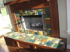 Customer Photographs | Fireplaces | Motawi Tileworks