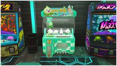 Overwatch Claw Machine and Vending Machine at Josie Simblr • Sims 4 Updates