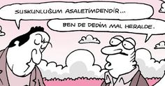 charming life pattern: Yiğit Özgür Karikatürleri - Fırat'ın Sayfası - sus...