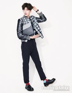 Lee Jong Suk Marie Claire Korea April 2014 Look 3