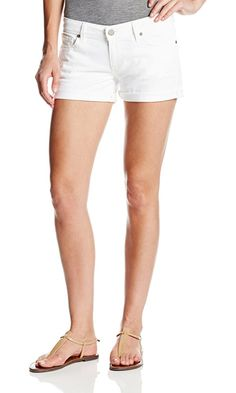 Paige Women's Jimmy Jimmy Short In Optic White, Optic White, 26 Best Price