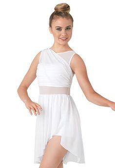 Mesh Inset Drapped Mesh Wrap Dress   Balera™