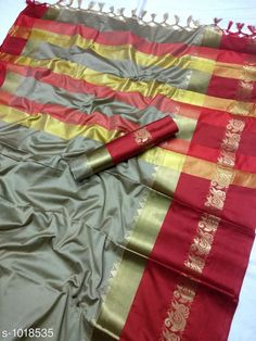 Sarees Fancy Soft cotton Silk Saree  *Fabric* Saree - Soft cotton Silk , Blouse - Soft cotton Silk  *Size* Saree - 5.5 Mtr Blouse - 0.8 Mtr  *Work * Zari weaving Work  *Sizes Available* Free Size *   Catalog Rating: ★3.9 (5967)  Catalog Name: Solid Sana Cotton Silk Sarees with Tassels and Latkans CatalogID_122576 C74-SC1004 Code: 385-1018535-