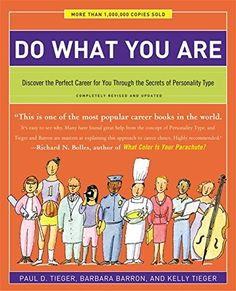 Do What You Are: Discover the Perfect Career for You Through the Secrets of Personality Type by Paul D. Tieger http://smile.amazon.com/dp/031623673X/ref=cm_sw_r_pi_dp_RLHRwb1HBW7JN