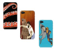 Ironic Animal iPhone Cases