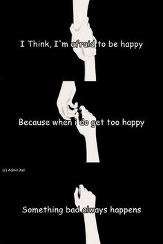 I'd rather be content, single and with great friends I can count on than to allow myself the possibility of being hurt by someone I try to care for. WHY do I think like that?!?!