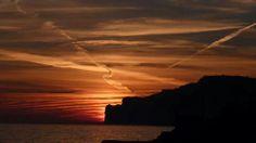 # Mallorca Abendstimmung an der Costa de la Calma