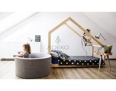 Łóżko drewniane Scandi DMS, Rozmiar - 120x190