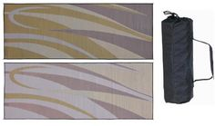 RV Awnings & Canopies - Pin it :-) Follow Us :-))  zCamping.com is your Camping Product Gallery ;) CLICK IMAGE TWICE for Pricing and Info :) SEE A LARGER SELECTION of RV awnings & canopies at http://zcamping.com/category/camping-categories/rv-camping-supplies/rv-awnings-and-canopies/  - hunting,  camping essentials, camping, camping gear, road camp, rv - Ming's Mark GC7 Brown/Gold 8′ x 20′ Graphic Mat « zCamping.com