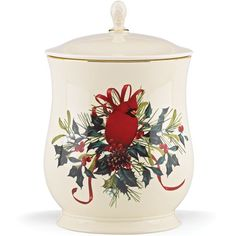 Winter Greetings® Cookie Jar By Lenox