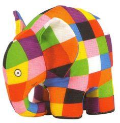 Rainbow Elmer Soft Toy