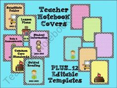 Free (and editable!) Polka-dot and Chevron Notebook Covers School Classroom, School Fun, Classroom Ideas, School Ideas, School Stuff, Classroom Freebies, Future Classroom, Creative Teaching, Teaching Tools