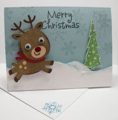 Handmade Christmas cards | Injoy Stampin Handmade Cards/Mini Albums