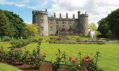 Admire the beautiful garden and landscapes surrounding Kilkenny Castle in Ireland, with APT.