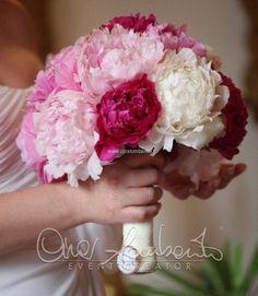 #bouquet #peonie rosa