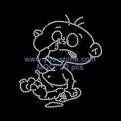 Baby Rhinestone Designs For Tshirt