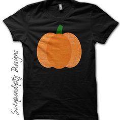 Boys Pumpkin Shirt - Girls Pumpkin Picking Tshirt / Kids Fall Outfit / Toddler Halloween Clothes