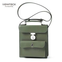 British Casual Style Rectangle Messenger Crossbody bag for Women Crossbody  Bag 393192d705983