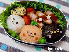 ハロウィン お弁当 幼稚園 キャラ弁♡の画像