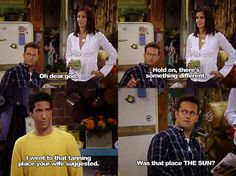 Oh Chandler..