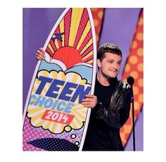 Yay!!! Josh won for best actor in Science Fiction for CATCHING FIRE!!!!!!!!!!!!!!!!!!!!!!!!!!! ♡ That's my Josh ♡