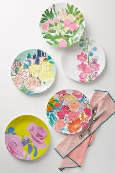 These Anthropologie dinner plates are perfect for summer hosting.