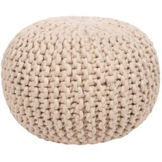 DwellStudio Braided Pouf ($248) ❤ liked on Polyvore featuring home, furniture, ottomans, fillers, deco, decor and dwellstudio