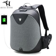 a0889724e45c ARCTIC HUNTER 15.6 Laptop backpack. Hunter SchoolWaterproof Laptop  BackpackLaptop BagMen s BackpackBusiness TravelSchool BackpacksSchool School Male ...
