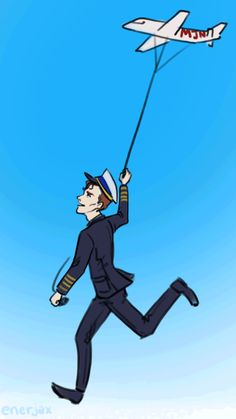 ♥♥♥Happy Cabin Pressure Day♥♥♥ - Awe, here, have this adorable .gif of MJN kite-flying Martin. Roger Allam, Cabin Pressure, Kite Flying, Yellow Car, Flight Deck, Creative Skills, Bbc Radio, Hilarious