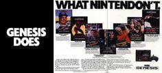 Genesis Does What Nintendon't.