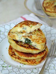 Tortitas de patata rellenas ¡Y dos ideas de relleno! #gourmetrecetas