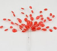 Free shipping 20pcsLOT  Artificial acrylic waterdrop crystal  flowers tree bunches with wire stem for wedding favour Pearl Garland, Wedding Favors, Party Supplies, Pearls, Crystals, Flowers, Wire, Free Shipping, Wedding Keepsakes