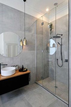 7 Secure Cool Tricks: Tub To Shower Remodeling Ideas bathtub shower remodel.Shower Remodeling On A Budget stand up shower remodel before and after.Tub To Shower Remodel With Window. Bad Inspiration, Bathroom Inspiration, Bathroom Ideas, Bathroom Remodeling, Bathroom Trends, Bathroom Grey, Remodeling Ideas, Basement Remodeling, Remodeling Costs