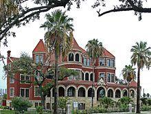 Galveston, Texas architecture. So many grand Victorian homes on Galveston Island!